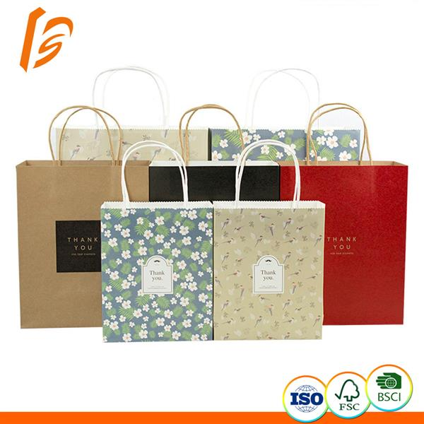 Custom Printed New Products Kraft Paper Bag