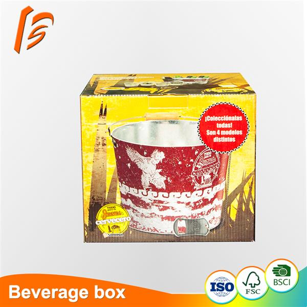 Good Quality customized baverage packing carton box