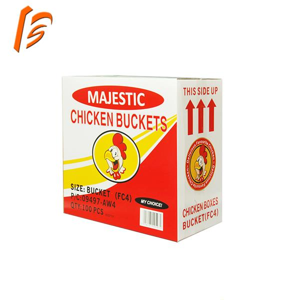 Customized cheap hotselling fried chicken box china manufacturer