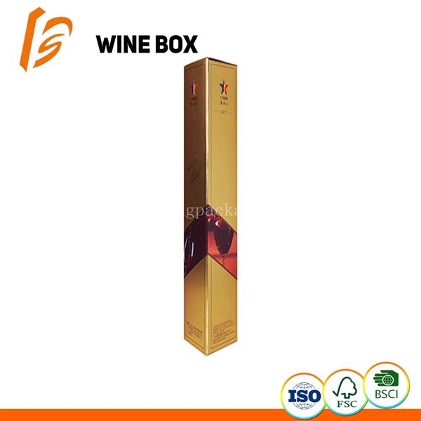 Luxury Golden wine box