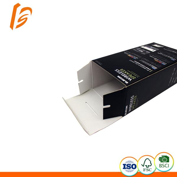 Wireless speaker packaging paper carton box factory for customized order