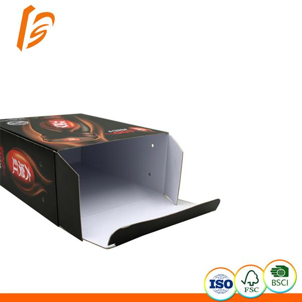 Customized printed corrugated boxes for drink pacakging and advertising