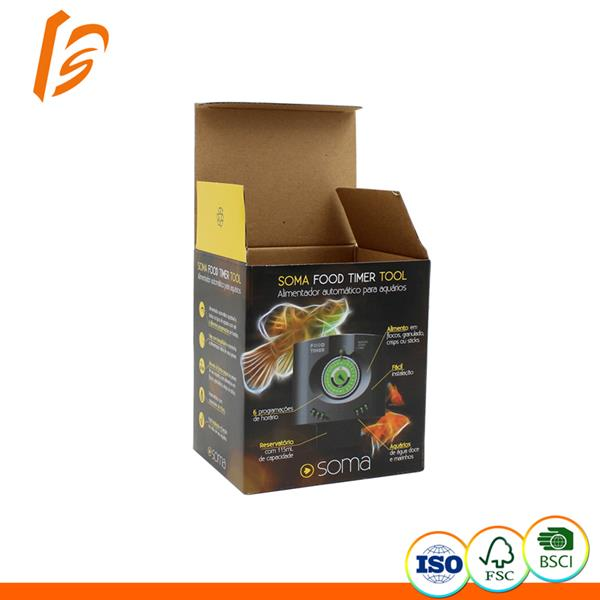 Food timer tool corrugated packing box