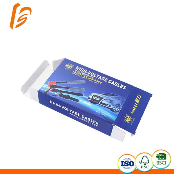High voltage cable color corrugated E flute box