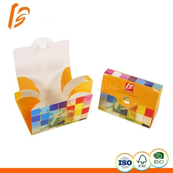 Factory manufacturer customized trapezoid paper box