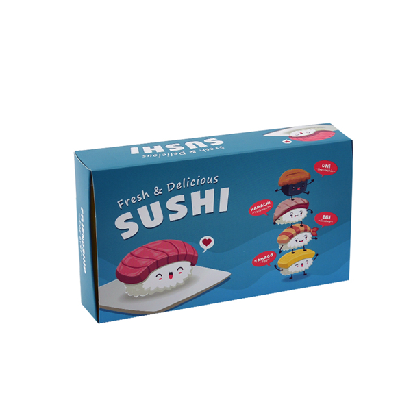 Sushi packaging box for take away