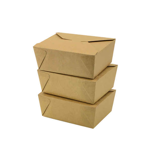 Kraft paper Take out box packaging