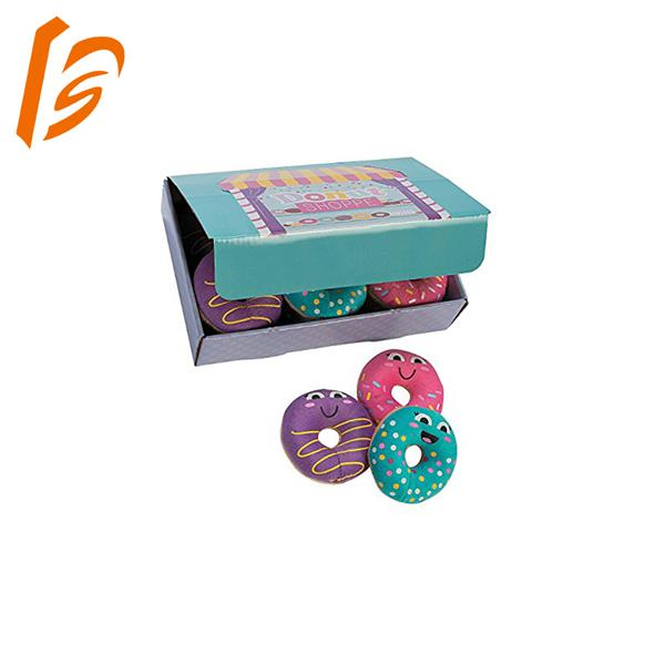 food grade rectangular shaped donut paper box