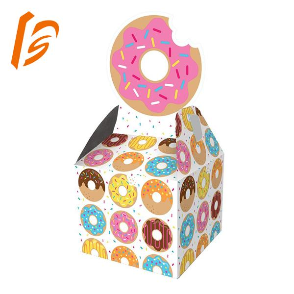 customized bakery box donut paper packaging box