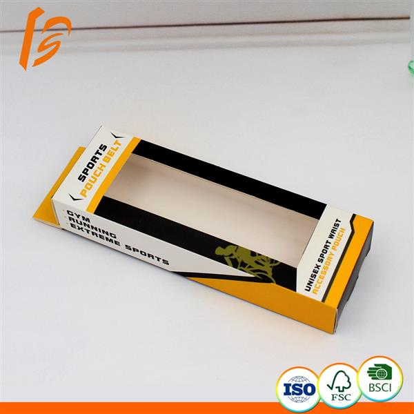Small size packaging hanger box