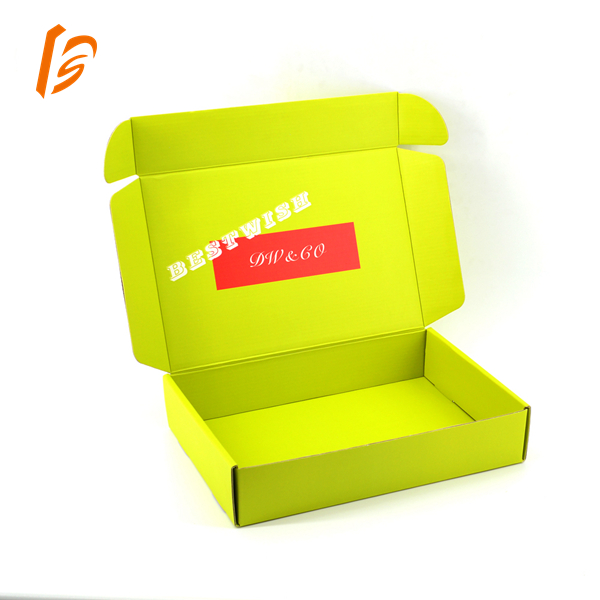 Double side printing corrugated box