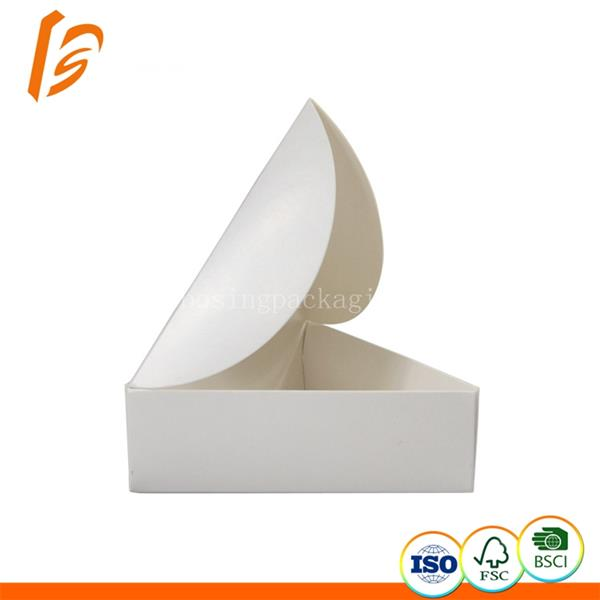 Factory cheap cost customized triangle food box