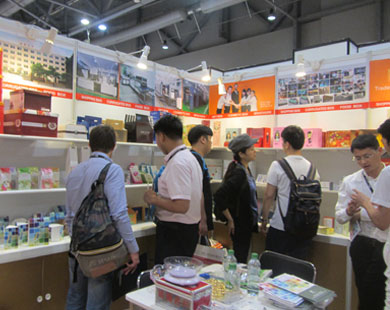 Bosing company visits 2016 HongKong Paper Packaging Fair reaches expected effects 02