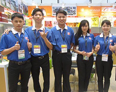 Bosing company visits 2016 HongKong Paper Packaging Fair reaches expected effects 03