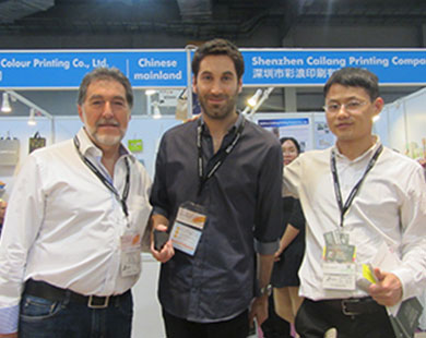Bosing company visits 2016 HongKong Paper Packaging Fair reaches expected effects 04